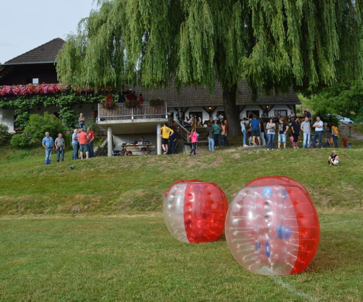 Bubble Soccer & Buschenschank Package