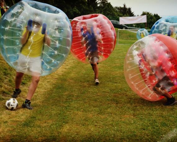 Bubble Soccer / Bubble Bälle Mieten